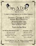 2012 G&D Auction Gala Flyer