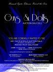 "Cystic Fibrosis Foundation's ""Guys & Dolls Auction Gala"" 2011 - Invitation Inside"