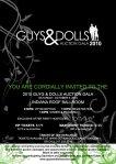 "Cystic Fibrosis Foundation's ""Guys & Dolls Auction Gala"" 2010 - Invitation Inside"