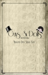 Guys and Dolls Program Cover
