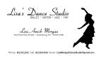 Lisa Morgan Dance Studio Business Card_V3