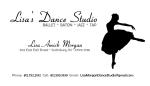 Lisa Morgan Dance Studio Business Card_V4